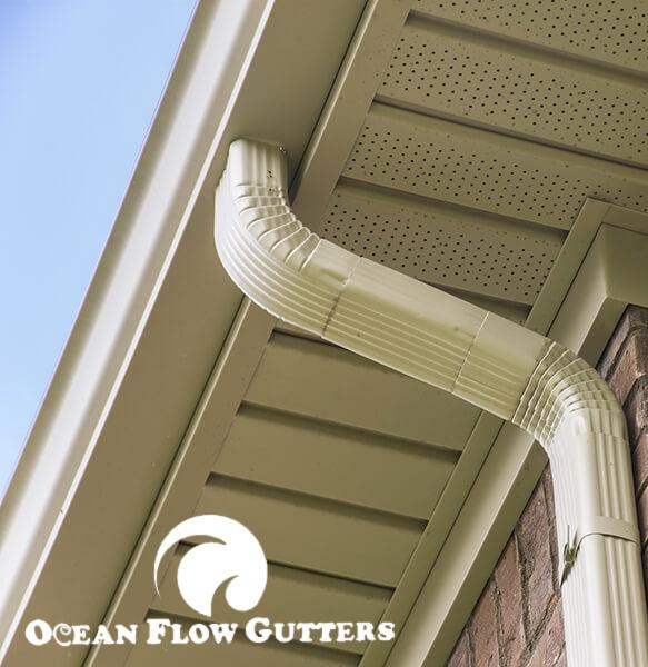 Downspouts - Ocean Flow gutter company